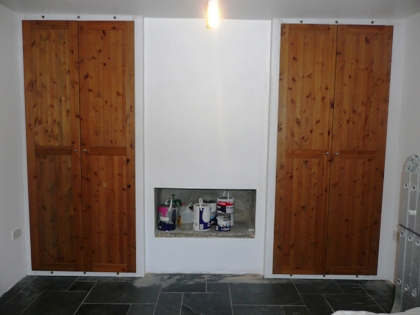 fitted alcove wardrobe doors