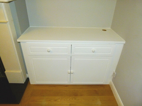 South-Mimms-EN6 Fitted Alcove Media Cabinets